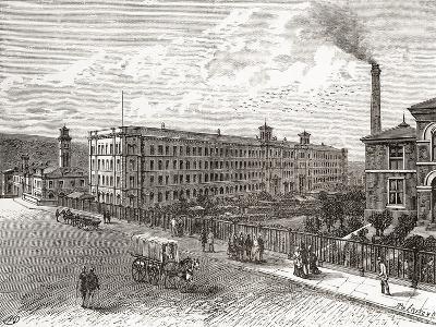 Saltaire Mills, Bradford, West Yorkshire, England--Giclee Print