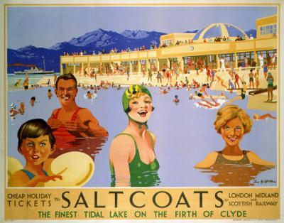 Saltcoats on the Firth of Clyde