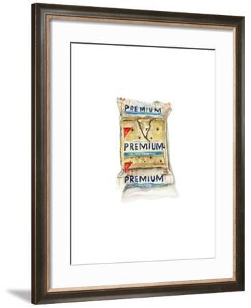 Saltine Crackers-Stacy Milrany-Framed Art Print