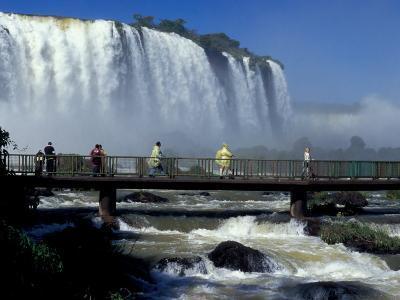 Salto Floriano, Foz Do Iguacu, Iguacu National Park, Parana, Brazil-Julie Bendlin-Photographic Print