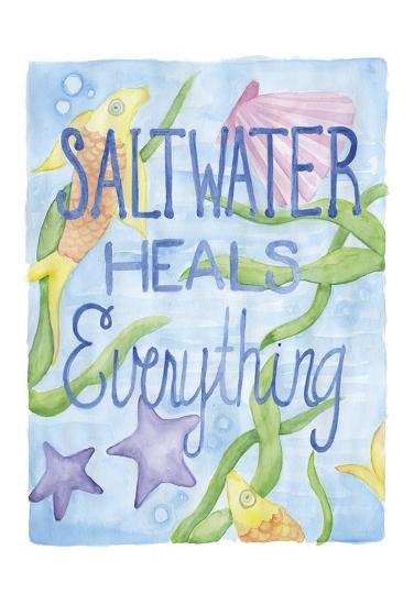 Saltwater Heals-Pam Varacek-Art Print