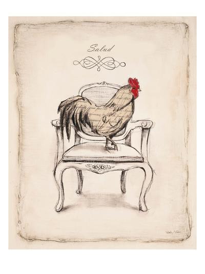 Salud Chick-Emily Adams-Art Print