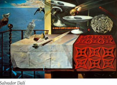 A Lively Still Life by Salvador Dal?