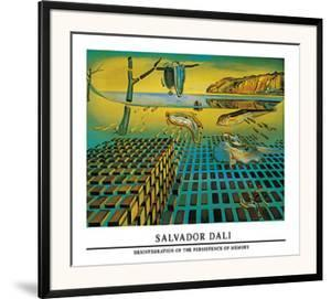 Disintegration of the Persistence of Memory by Salvador Dal?