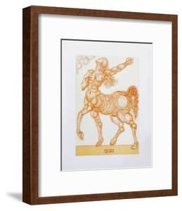 Divine Comedie, Enfer 25: Le Centaure by Salvador Dal?