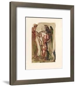 Divine Comedie, Purgatoire 11: Les orgueilleux by Salvador Dal?