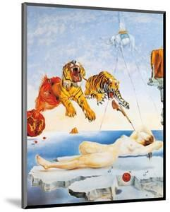 Dream Caused by the Flight of a Bee around a Pomegranate, c. 1944 by Salvador Dal?