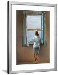 Person at the Window by Salvador Dal?