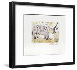 Rhinoceros by Salvador Dal?