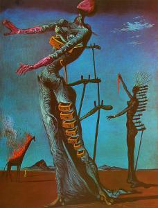 The Burning Giraffe, c. 1937 by Salvador Dal?