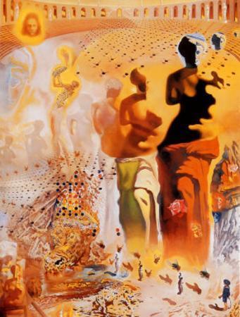 The Hallucinogenic Toreador, c.1970 by Salvador Dal?
