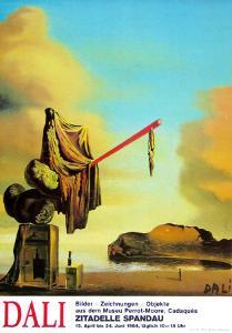Casket at the Beach by Salvador Dalí