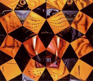Cinquenta, Tigre Real by Salvador Dalí