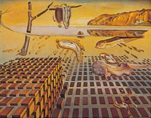 Disintegration of the Persisstence of Memory by Salvador Dalí