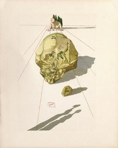 Divine Comedie, Enfer 23: Le SuppIIce Des Hypocrites by Salvador Dalí