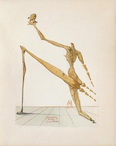 Divine Comedie, Enfer 28: Bertrand de Born by Salvador Dalí