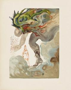 Divine Comedie, Enfer 31: Les Geants by Salvador Dalí