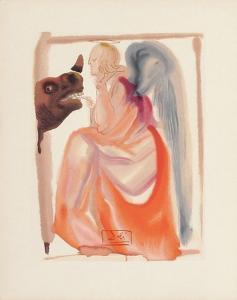 Divine Comedie, Paradis 06: Le ciel de Mercure by Salvador Dalí