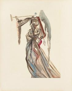 Divine Comedie, Paradis 10: L'Ange du soleil by Salvador Dalí