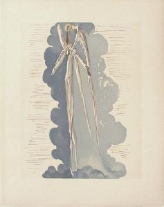 Divine Comedie, Paradis 22: L'Ange Du 7Ème Ciel by Salvador Dalí