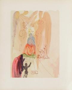Divine Comedie, Paradis 23: Le triomphe du Christ by Salvador Dalí