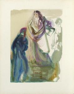 Divine Comedie, Paradis 28: La marche vers Dieu by Salvador Dalí
