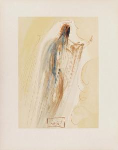 Divine Comedie, Paradis 29: La creation des Anges by Salvador Dalí