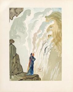 Divine Comedie, Purgatoire 12: La Beauté Des Sculptures by Salvador Dalí