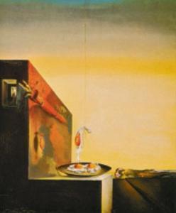 Eggs on a Plate by Salvador Dalí