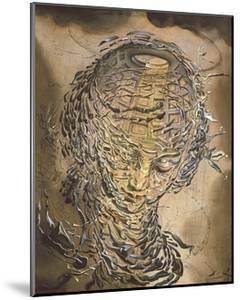 Exploding Raphaelesque Head by Salvador Dali