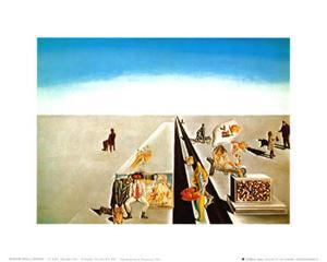 I Primi Giomi di Primavera by Salvador Dalí