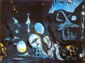 Idylle Atomique by Salvador Dalí
