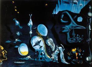 Idylle Atomique by Salvador Dalí