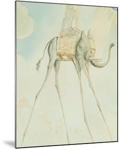 L'Elephante Giraffe by Salvador Dalí