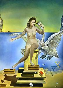 Leda Atomica by Salvador Dalí
