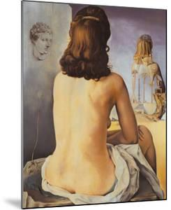 Ma Femme Nue Regardant son Porpe Corps by Salvador Dalí