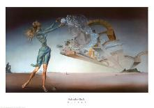 Vogue Cover - June 1939 - Dali's Dreams-Salvador Dalí-Premium Giclee Print