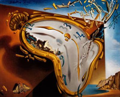 Montre Molle au Moment by Salvador Dalí