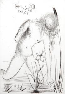 Narcissus by Salvador Dalí
