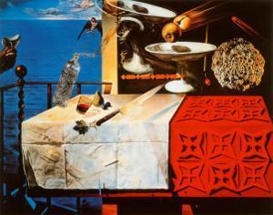 Nature Morte Vivente by Salvador Dalí