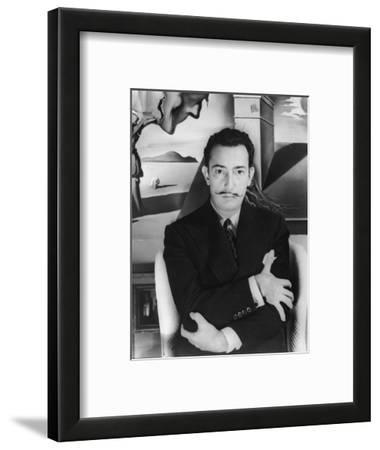 """Salvador Dalí. Off Set From """"Spellbound"""" 1945"""""""