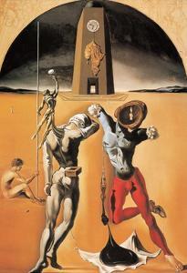 Poesie d'Amerique by Salvador Dalí