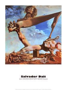 Soft Construction with Boiled Beans by Salvador Dalí
