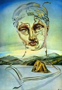 The Birth of a God by Salvador Dalí