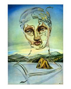 The Birth of a God by Salvador Dalí