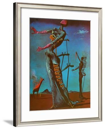 The Burning Giraffe, c. 1937