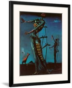 The Burning Giraffe, c. 1937 by Salvador Dalí