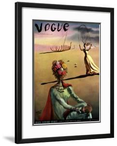 Vogue Cover - June 1939 by Salvador Dalí