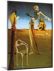 Woman With Head of Roses by Salvador Dalí