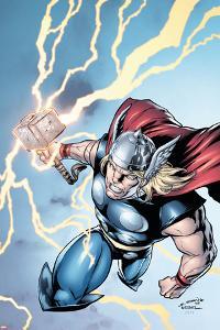Marvel Adventures Super Heroes No.7 Cover: Thor by Salvador Espin